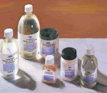 ausiliari per colori ad olio