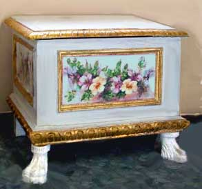 Decoupage - Decoupage su mobili in legno ...