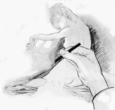 Disegni nudo femminile for Disegni facili da riprodurre
