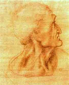 Leonardo disegno Giuda