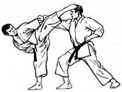 disegno karate