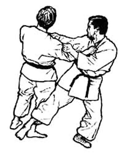 disegni karate
