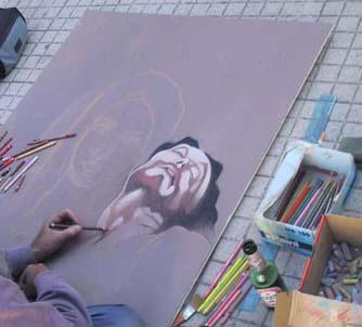 Disegnare Con Gessi Colorati