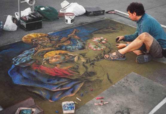 Disegnare con gessi colorati for Sito per disegnare