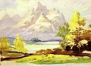 Disegnare E Dipingere Il Paesaggio
