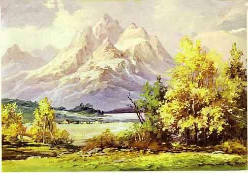 488 x for Paesaggi semplici da disegnare