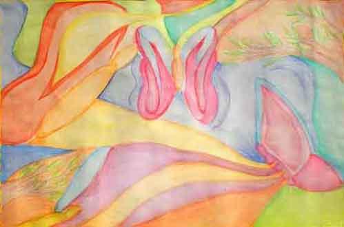 Disegnare E Dipingere Con Matite Colorate